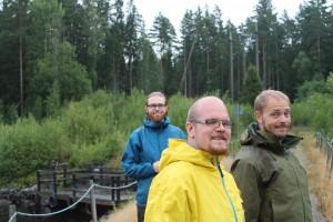 Supermysigt var det! Magnus, Johan och Patrik!